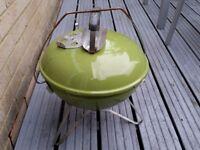 Weber smokey joe portable BBQ