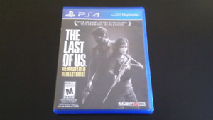 PS4 - The Last of Us Remasterisé
