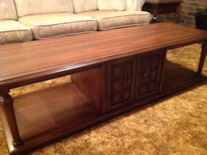 3 Wooden Coffee Tables