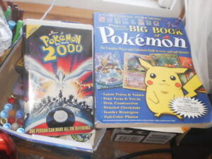pokemon games and figurines