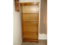 WOODEN BOOKCASE WITH ADJUSTABLE SHELVES - SOUTH SOMERSET