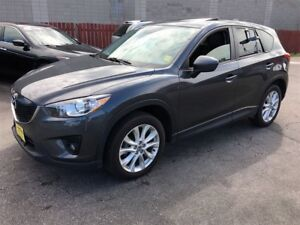 2014 Mazda CX-5 Grand Touring, Navigation, Leather, Sunroof, AWD