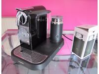 Nespresso 'Citiz & Milk' coffee machine - with extras