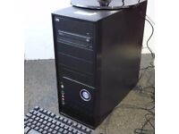 Windows 7 Tower PC With SSD and AMD Athlon II