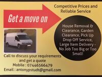 Man and van service great value