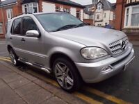 2003 MERCEDES ML270 CDI..AUTOMATIC..7 SEATER..FULL LEATHERS