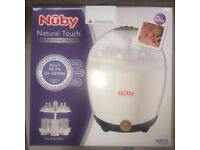 Brand New Boxed Nuby Natural Touch Electric Steam Steriliser