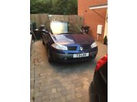 Renault Megane 1.9 DCI 73000 miles includes private number plate
