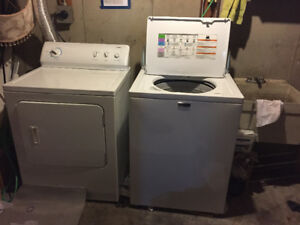 Washer and Dryer $500