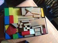 Wooden Toy Bricks