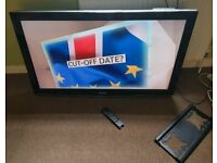 Sharp 46 inch LCD HD tv excellent condition