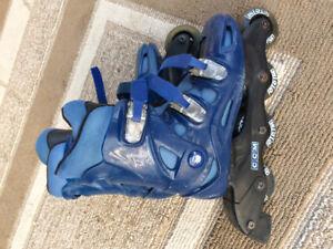 Men's size 8 CCM rollerblades