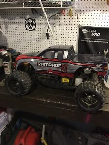 1/5th scale RC truck