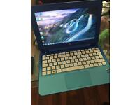 Hp stream laptop notebook computer ultra slim, webcam, wifi, Bluetooth, windows 8