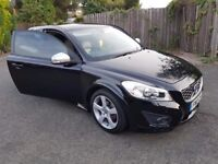 Volvo c30 2010 r-desing only 36k full service new still px golf leon astra 320d 520d clc a3 a4 a6