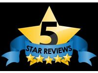 5 star google / facebook review boost your site placement for only £1.99