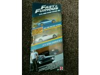 Fast and Furious 3 Pack of Cars Ultimate Performance Pack