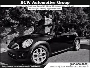 2013 MINI Cooper Convertible Low Km Certified WOW! $21,995.00