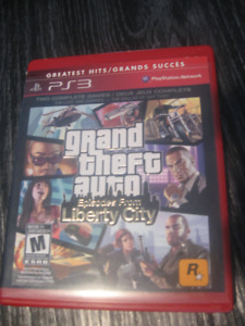 Jeu PS3 Grand theft auto ( episodes from liberty city)