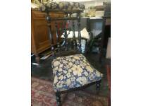 Antique Prayer Chair