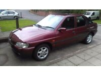 Ford escort 1998 1.6 lx only 26,000 miles service history moted