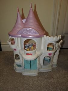 Vintage F.P. Once Upon a Palace & My Little Pony Show Stable