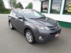 2014 Toyota RAV4 Limited 4x4 for only $215 bi-weekly all in!