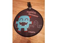 Cosatto cuddle monster sunshade for pushchair