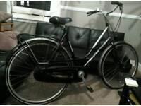 Dutch bike, good brand. Shiny paint. Serviced 2 weeks ago. Working perfectly