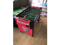 Football table with 3 balls