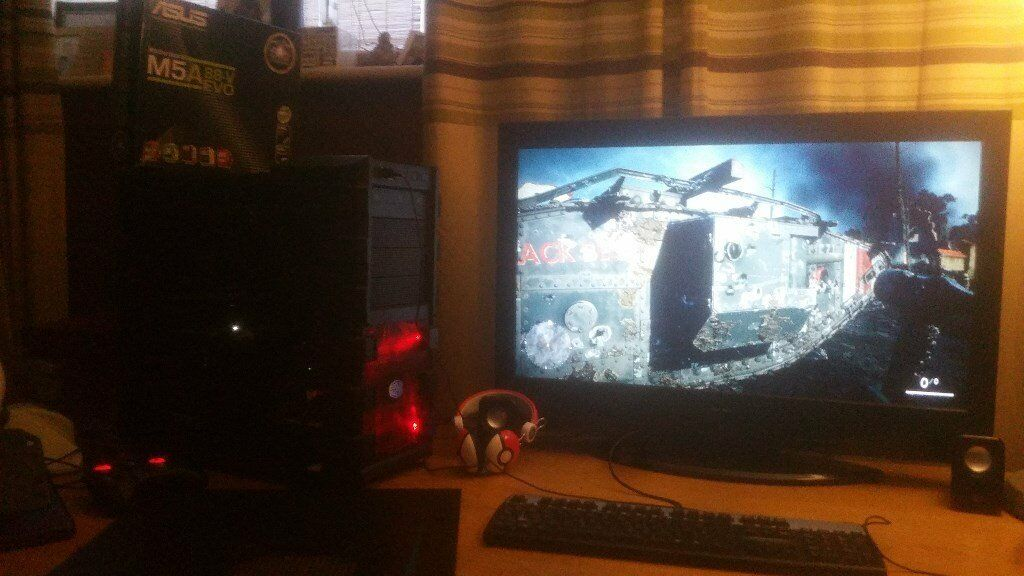 GAMING PC AMD 8350 EXTREME 8 CORE 4GHZ ASUS STRIX GTX 960 2GB SSD 8 gb Corsair Vengence Pro series