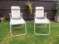 Aluminium Frame Reclining Chairs