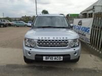 LAND ROVER DISCOVERY 4 3.0 TD V6 XS 4x4 5dr Auto (silver) 2010