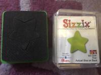 Sizzix Originals small star Die *new