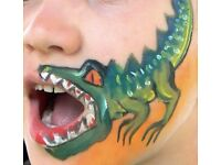Fantastic Face Painting for your party or Halloween! Reliable Face Painter and Balloon Modeller