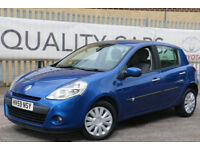 Renault Clio 1.2T 16v a/c 2009 Expression SOUGHT AFTER COLOUR BARGAIN PRICE