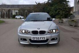 BMW M3 3.2 2005/55 COUPE SMG II IMOLA RED NAPPA HEATED MEMORY LEATHER SAT NAV/TV HARMONS!!