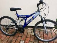 Challenge Sceptre full suspension boys bike cycle bicycle