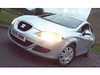 LOW MILES 2009 89k SEAT LEON 1.9 TDi REFERENCE SPORT HPI CLEAR Part Exchange
