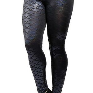 Black Mermaid leggings XL