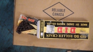 motorcycle chain  did size 50 brand  new in box
