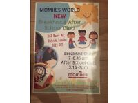 Volunteer Playworker for Breakfast and After school club