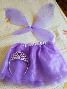 Butterfly fairy costume set