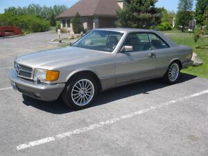 1990 Mercedes Benz 560 SEC