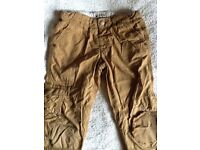M&S lined trousers Age 5-6