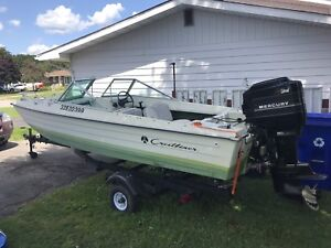 1977 tri bow crest liner with 80hp