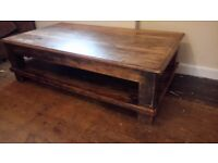 Canadian maple coffee table