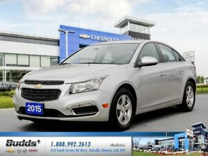 2015 Chevrolet Cruze 1LT 0.9% for up to 24 months O.A.C