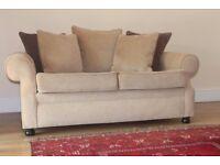 Designer handmade SOFA WORKSHOP 2 and 3/4 seater sofas suite RRP £4568