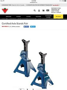 Axle Stands - 3 ton capacity